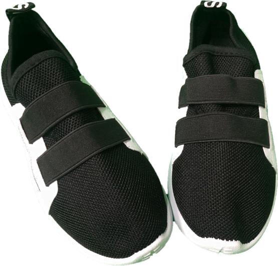 Adidasi negri cu elastic