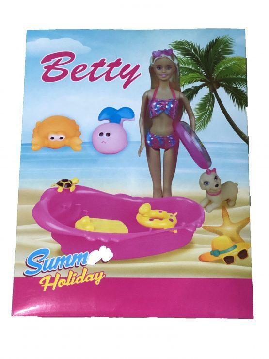 set joaca copii, Betty la plaja