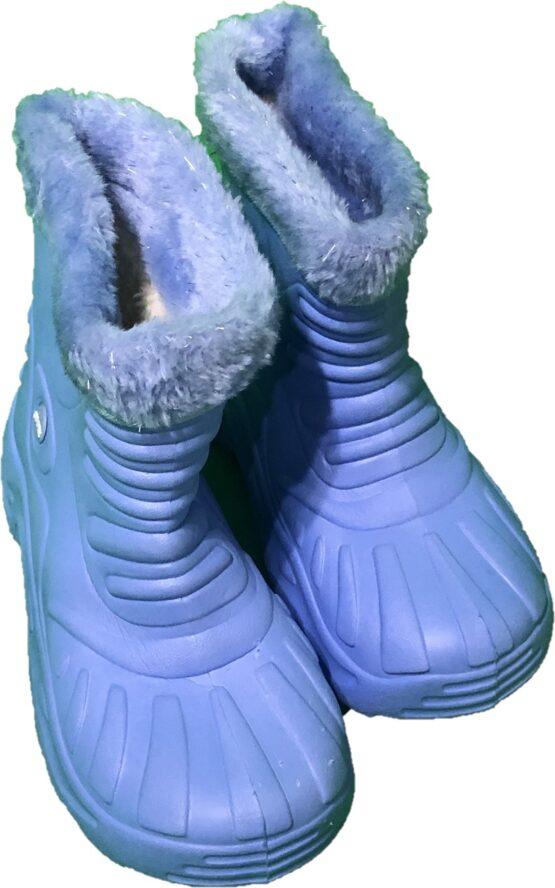 cizme albastre de iarna unisex