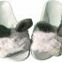 papuci gri blanita