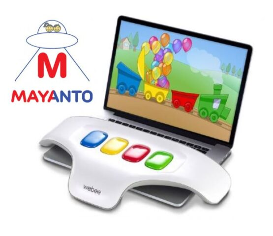 Consola WEBEE de Jocuri Educative si Interactive pentru Copii
