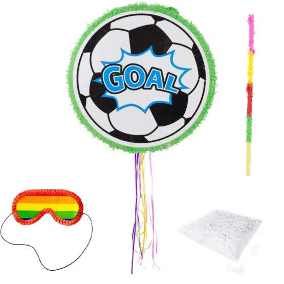 Set complet Pinata minge fotbal + bat + ochelari + confetti